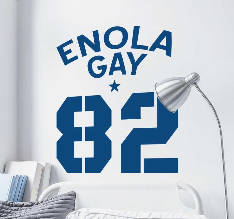 Dekoracja Enola Gay 82