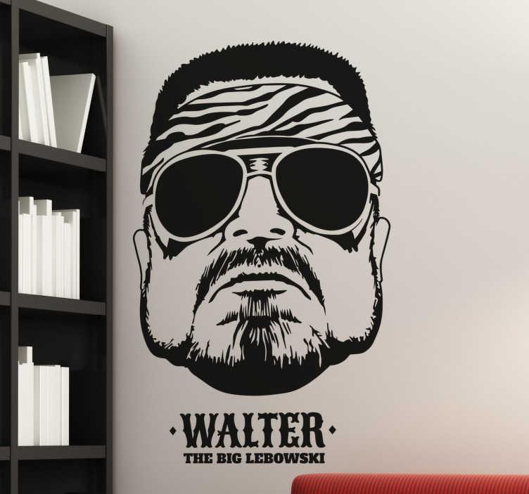 TenVinilo. Viinilo Gran Lebowski Walter. Vinilos para cinéfilos ideados para fans de las películas de los geniales hermanos Coen.