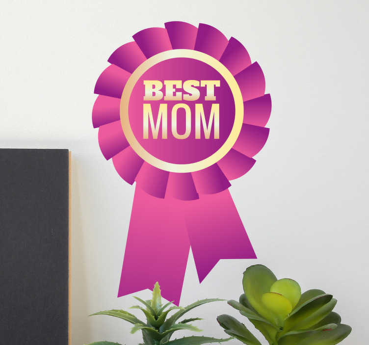 Best Mom Wall Sticker