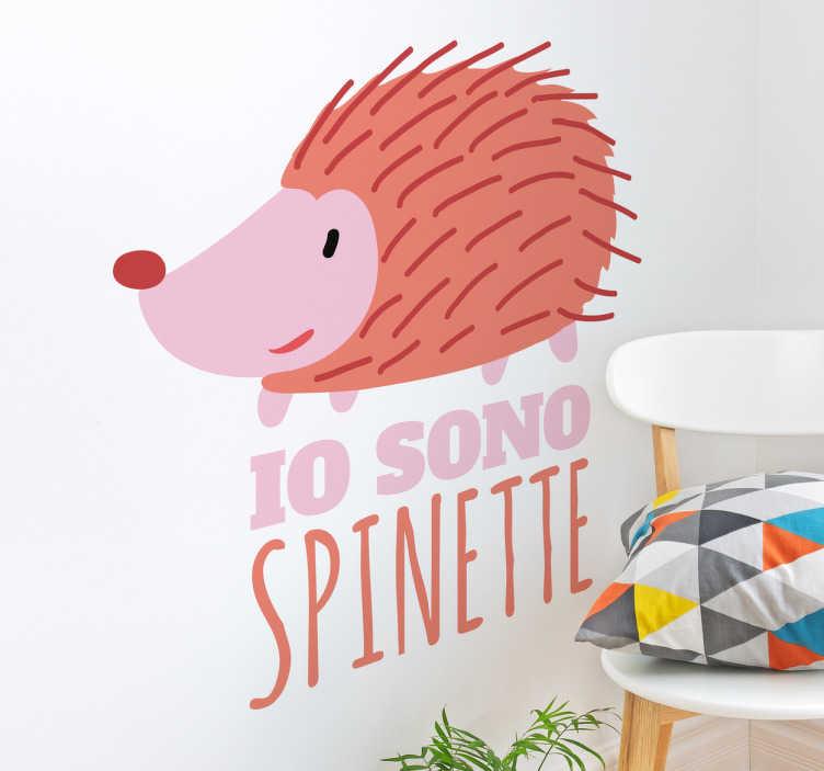 TenVinilo. Vinilo Io sono spinette. Vinilos pared con personajes televisivos de nuestra infancia con un toque irónico, divertido y de cachondeo.