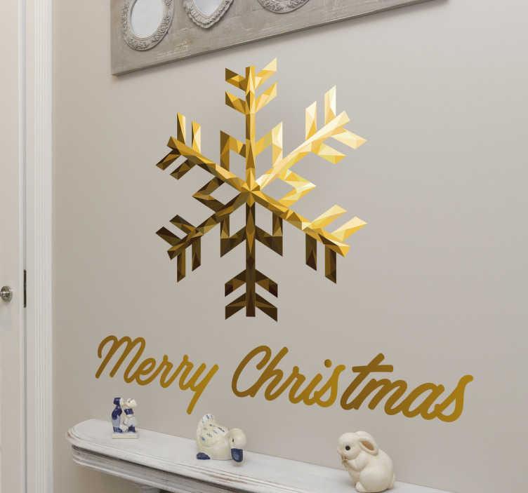 Adesivo de parede Merry Christmas