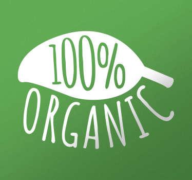 Sisustustarra 100% organic
