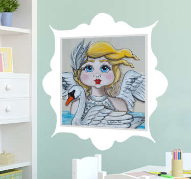 If you're looking for the perfect way to decorate your child's room, look no further than this children's decorative wall vinyl!