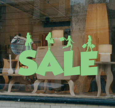 Business Sale Sign Sticker