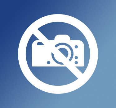 Pegatina señalética sin fotos