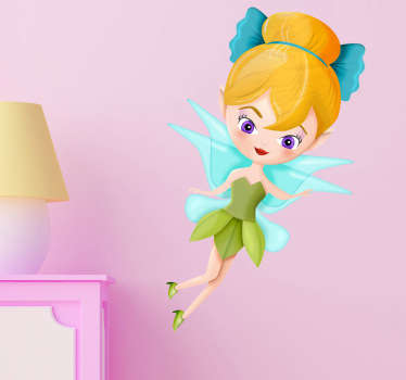 Sticker kinderen Fee Tinkerbel