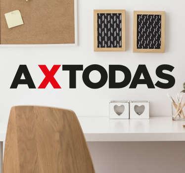 Vinilos de frases motivacionales, ideales para decorar espacios comunes de tu hogar o tu propio despacho.