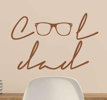 Adesivo decorativo Cool Dad