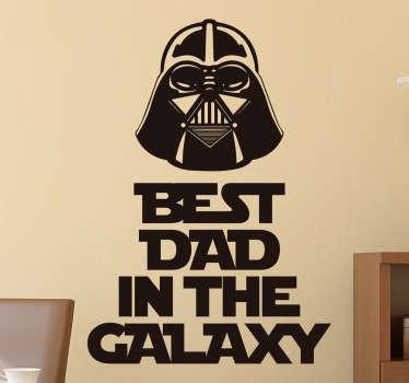 Adesivo per papà Star Wars