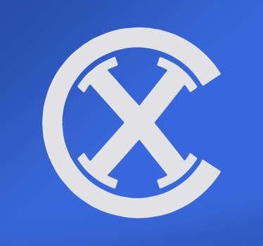 Pegatina logo antiguo Espanyol
