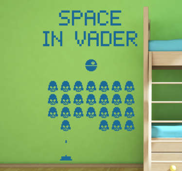 Muursticker Space in Vader