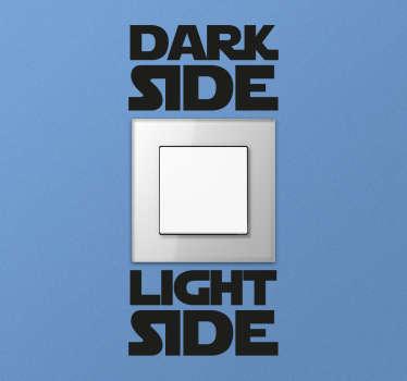 Sticker lichtschakelaar Star Wars