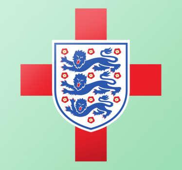 Sticker drapeau et logo anglais