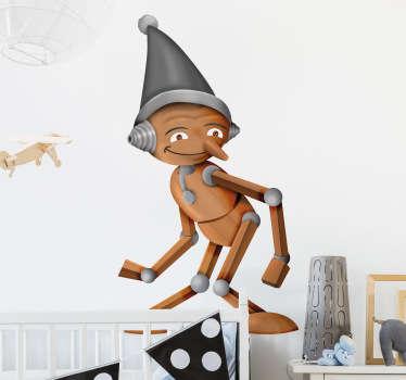 Vinilo infantil Pinocho