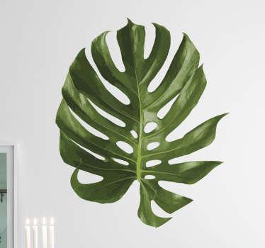 Sticker feuille plante