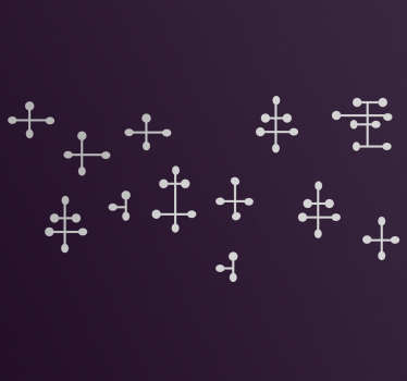 Sticker símbolos silla Eames