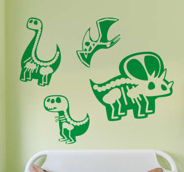 Great, decorative wall stickers for kids, especially for all little dinosaur lovers. Such a sticker will definitely change the room of every child!
