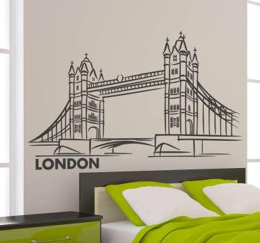 Adesivo decorativo Tower Bridge