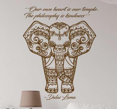 Vinilo decorativo Dalai Lama