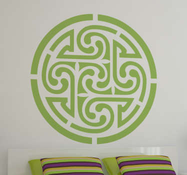 Adesivo decorativo celta