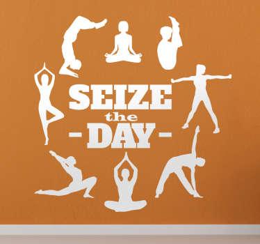 Wandtattoo Spruch Seize the Day