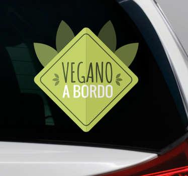 Vinilos para el coche con los que podrás mostrar al resto de conductores cuáles son tus hábitos alimenticios y hacer gala de los mismos.