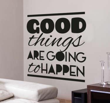 Good Things Sisustustarra