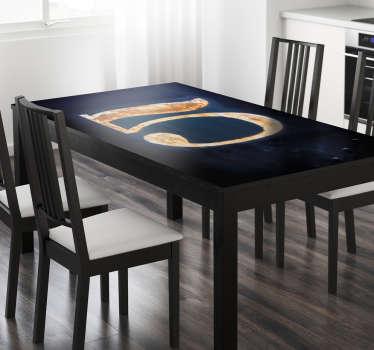 Sticker Ikea tafel nummer 5