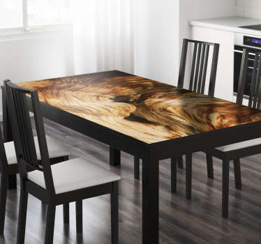 Sticker Ikea tables texture roque