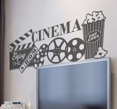 Muursticker cinema