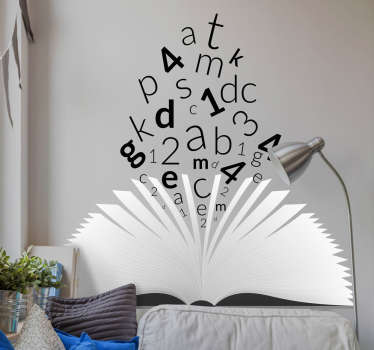 Vinyl headboards for boys, girls and youth that are imaginative, ideal to give a unique touch to the walls of their rooms.