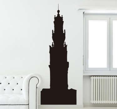 Autocolante silhueta Torre dos Clérigos