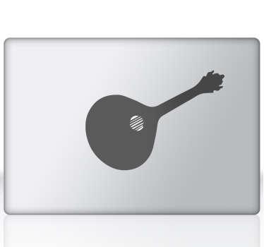 Vinil de portátil Guitarra Portuguesa. Coloca no teu portátil este fantástico vinil da guitarra Portuguesa por um preço apelativo.