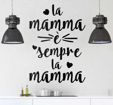 Adesimo la mamma è sempre la mamma