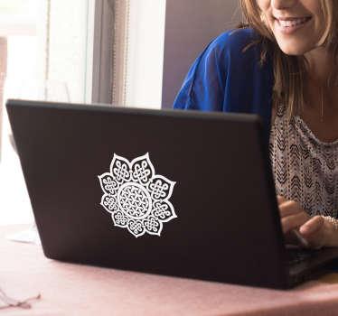 Laptopaufkleber keltisches Mandala