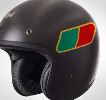 Adesivo para mota bandeira de Portugal