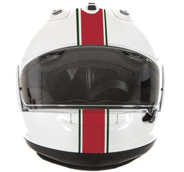 Autocolante para capacete faixas Portugal. Coloque o seu capacete mais atrativo com este autocolante de qualidade por um preço baixo.