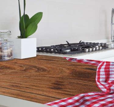 Pieza vinilo madera mantel