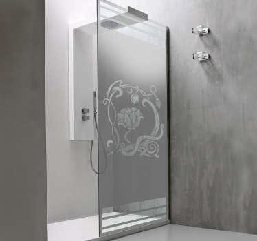 Naklejka na prysznic - Tajemnicza Roślina