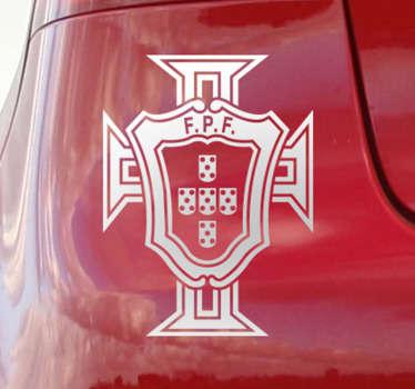 Vinil Autocolante Federação Portuguesa Futebol