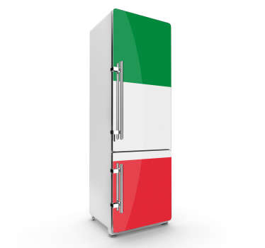 Adesivo decorativo frigo bandiera Italia