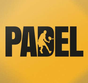 Adesivo Padel