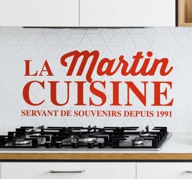 Sticker phrase cuisine