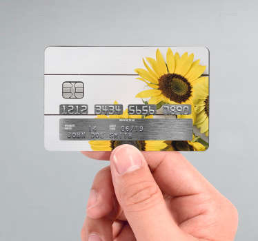 Customized credit card sticker