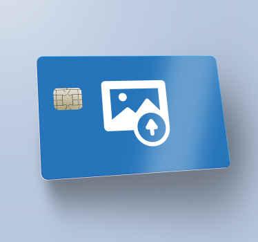 Customized credit card sticker