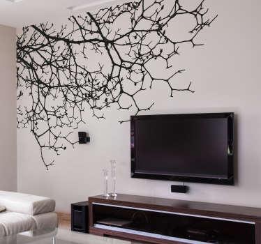 Wandtattoo hängende Zweige