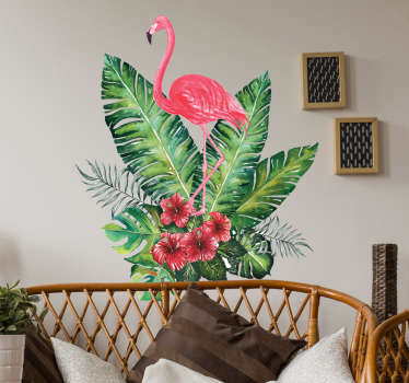Vinil tropical Flamingo