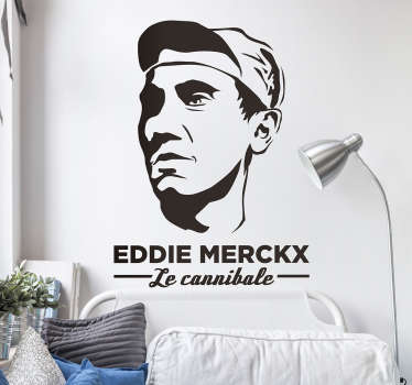 Sticker Eddie Merckx Le Cannibal