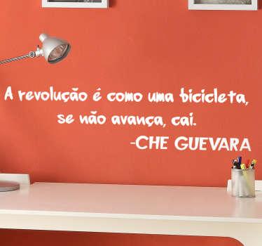 Vinil Che Guevara bicicleta . Decora o teu quarto com este vinil autocolante decorativo por um preço muito economico.