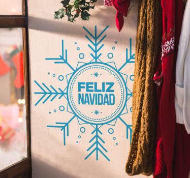 Vinilos navideños ideales para decorar con un estilo moderno y elegante tanto las paredes de tu casa como el escaparate de tu negocio.